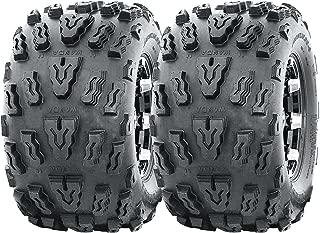 Set of 2 WANDA Sport ATV tires 20x10-9 20x10x9 4PR Deep Tread