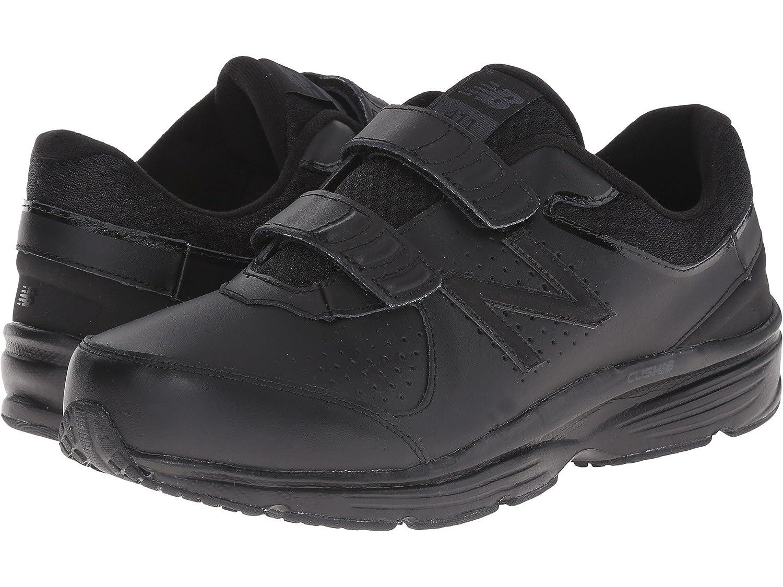 (ニューバランス) New Balance メンズウォーキングシューズ?靴 MW411v2 Black 10.5 (28.5cm) D - Medium
