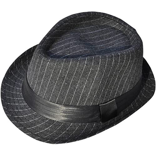 4fe24098305 YoungLove Classic Gangster Stain-Resistant Crushable Gentleman's Fedora