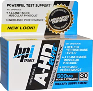 BPI Sports, A-HD Elite, 500 mg, 30 Capsules - 2pc
