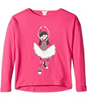 Little Marc Jacobs - Long Sleeve T-Shirt (Big Kids)