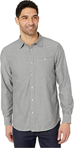 Asphalt Grey Hayden Pass Chambray