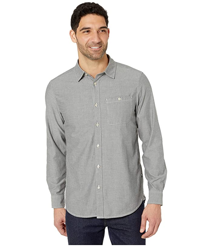 Men's Vintage Workwear – 1920s, 1930s, 1940s, 1950s The North Face Long Sleeve Hayden Pass 2.0 Shirt Asphalt Grey Hayden Pass Chambray Mens Long Sleeve Button Up $45.50 AT vintagedancer.com