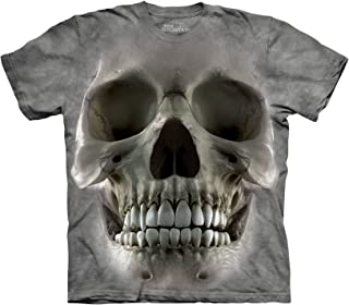big face skull t shirt