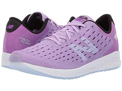 New Balance Kids Fresh Foam Zante Pursuit (Big Kid) (Dark Violet Glo/Black) Girls Shoes