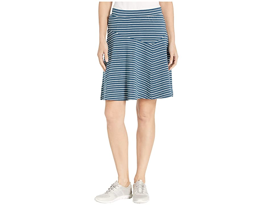 NAU Astir Swing Skirt Stripe (Lagoon Stripe) Women