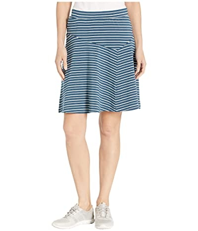 NAU Astir Swing Skirt Stripe (Lagoon Stripe) Women