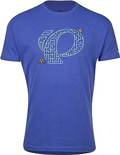 Pearl iZUMi Men's Graphic Cycling T-Shirt, Pizza Maze Sapphire, Large