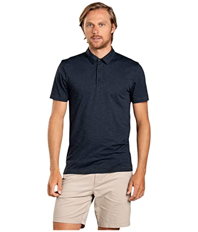 Toad&Co Tempo Short Sleeve Polo (True Navy) Men