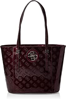 Guess Tote Bag for Women- Merlot