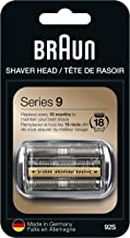 Braun Shaver Replacement Part 92S Silver - Compatible with Series 9 Shavers (packaging may vary)