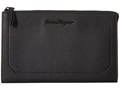 Salvatore Ferragamo Firenze Document Holder 240859 (Black) Bags