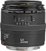 Canon EF 50mm f_2.5 Macro Negro - Objetivo (9/8, 0,23 m, 46°, AFD, Negro, 6,76 cm)