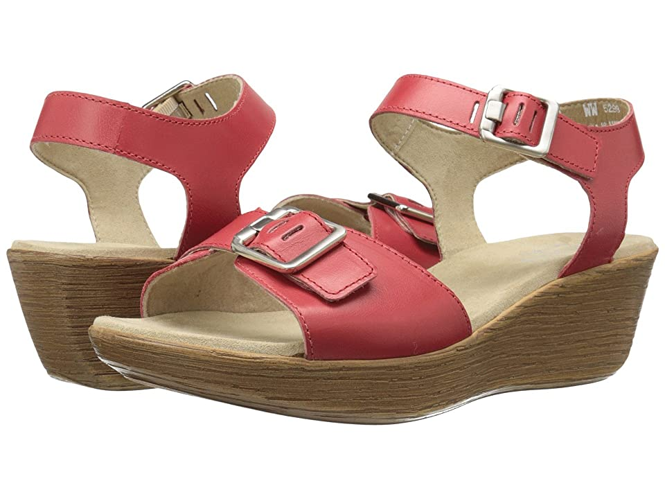 Munro Marci (Red Leather) Women