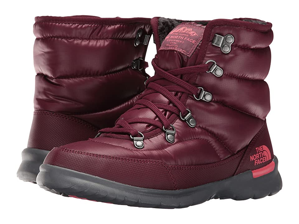 The North Face ThermoBall Lace II (Shiny Deep Garnet Red/Calypso Coral (Past Season)) Women