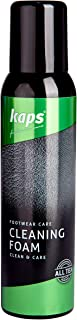 Kaps Shoe Cleaning Foam, Shoes and Boots Cleaner Cleanser, Leather Suede Nubuck Fabric and Canvas, All TEX, Cleaning Foam (150 ml – 5.07 fl. oz.)