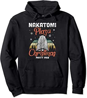 Nakatomi Plaza Christmas Party 1988 Xmas Funny Holiday Gift Pullover Hoodie