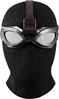 Black Spider Mask Man Helmet for Men