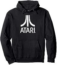 Atari White Slight Distressed Atari Logo Pullover Hoodie
