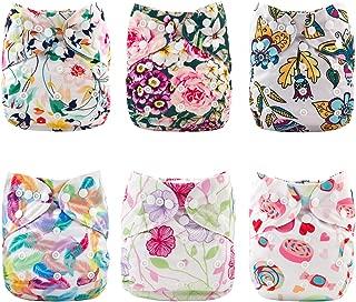 printed flat diapers
