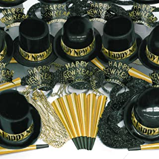 Gold Showboat New Year Kit for 100 Guests