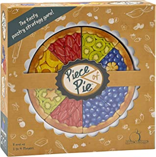 Blue Orange Games Piece of Pie Board Game - New Kids and Family Strategy and Math Game for 2 to 4 Players. Recommended for Ages 8 & up