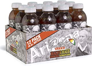 Arizona Tea   Premium Brewed Arnold Palmer Bottled Tea   12-Count   16-Ounce