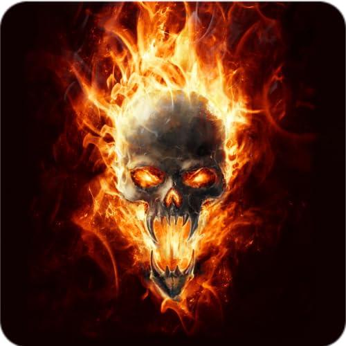 Magic Effect : Skull In Fire