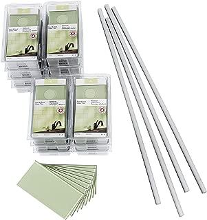 Aspect Peel and Stick Backsplash Kit Fresh Sage Glass Tile for Kitchen and Bathrooms (15 sq ft Kit)