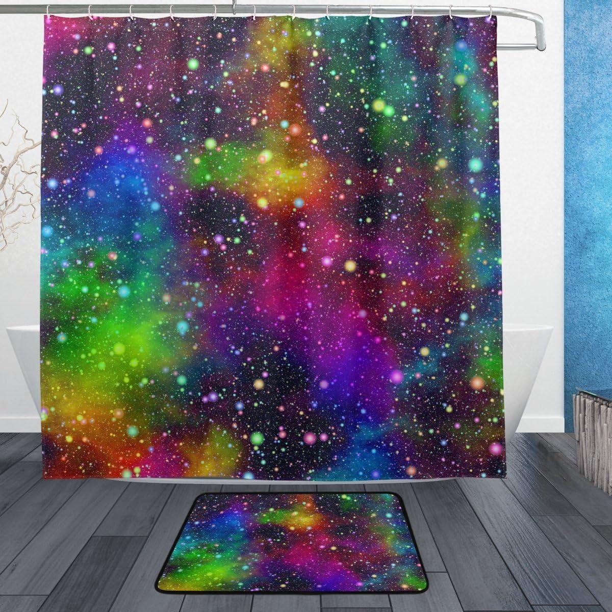 ALAZA Finally resale Sale Special Price start Universe Nebula Night Starry Show Polyester Sky Waterproof
