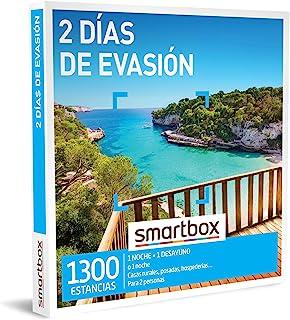 comprar comparacion SMARTBOX - Caja Regalo - 2 días de evasión - Idea de Regalo - 1 Noche o 1 Noche con Desayuno para 2 Personas