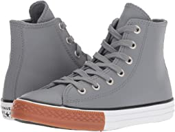 Chuck Taylor® All Star® Leather - Hi (Little Kid/Big Kid)
