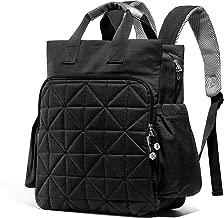 SoHo Kenneth Diaper Backpack 6Pc Tote Bag, Black