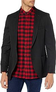 Haggar mensHJ80371Active Series Slim Fit Commuter Blazer Business Suit Jacket