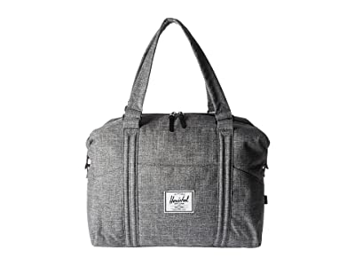 Herschel Supply Co. Strand (Raven Crosshatch) Duffel Bags