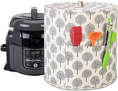 Yarwo Cubierta para olla a presión compatible con Ninja Foodi de 6,5 y 8 qt, cubierta antipolvo para electrodomésticos pequeñ