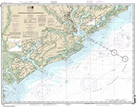Paradise Cay Publications NOAA Chart 11521: Charleston Harbor and Approaches, 34.6 X 44, TRADITIONAL PAPER