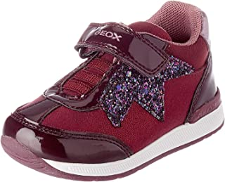 Geox B Rishon Girl A, Chaussures Premiers Pas Fille