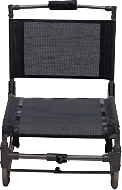 """Rio Gear 12.5"""" Seat Height Compact Traveler Folding Chair - Small"""