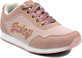 Juicy Couture Girls Fashion Lace-up Sneakers Kids Weslin