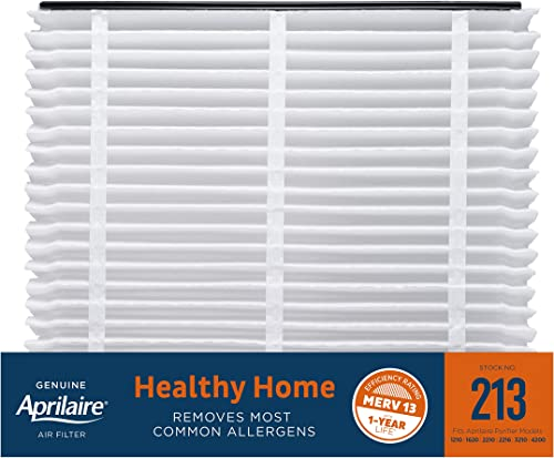 Aprilaire 213 Replacement Air Filter for Aprilaire Whole Home Air Purifiers, Healthy Home Allergy Filter, MERV 13 (Pa...