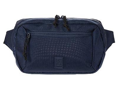 Chrome Zip Top Waistpack (Navy Blue Tonal) Bags