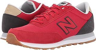 (ニューバランス) New Balance メンズランニングシューズ?スニーカー?靴 ML501 Red/Black 2 レッド/ブラック 11 (29cm) EE