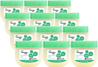 Mountain Falls Petroleum Jelly Skin Protectant with Vitamin E and Aloe, 13 Ounce (Pack of 12)