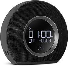 JBL Horizon – Bluetooth Clock Radio with USB Charging and Ambient Light – Black