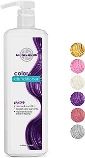 Keracolor Clenditioner Color Depositing Conditioner, Honey, 33.8 Fl Oz