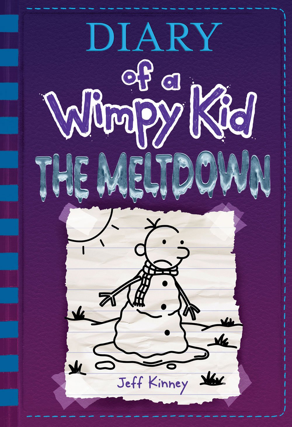 Cover image of Diary of a Wimpy Kid: The Meltdown by Jeff Kinney