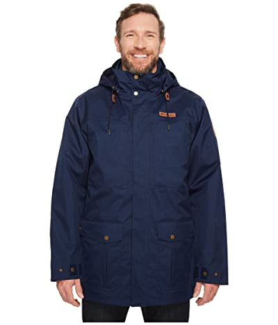 Columbia Big Tall Horizons Pine Interchange Jacket (Collegiate Navy/Collegiate Navy) Men