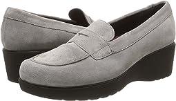 Grey Calf Suede