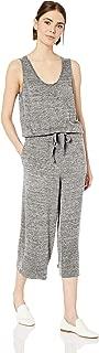 Daily Ritual Amazon Brand Women's Supersoft Terry Sleeveless Wide-Leg Jumpsuit
